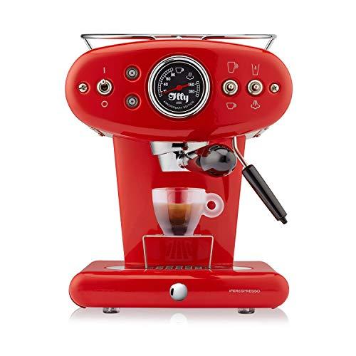 Illy Metodo X1Anniversary Espresso y Coffee Cápsula eléctrica, 1250W, color rojo