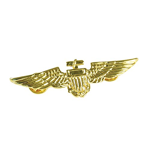 Bristol Novelty BA027 Flieger Nadel, Gold