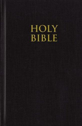 Pew Bible-KJV-Large Print por Zondervan