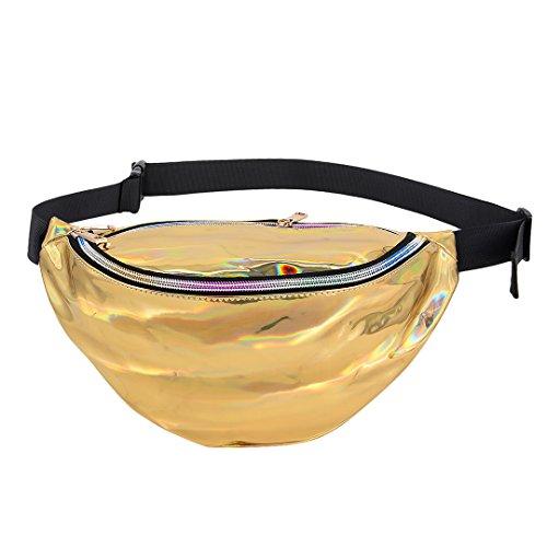 90S - Riñonera dorado dorado talla única