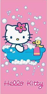 Grand Drap De Plage Hello Kitty