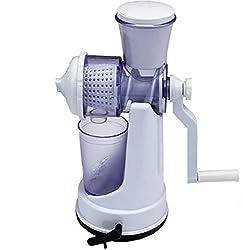 WYVERNBazaartm Jumbo Fruit & Vegetable Premium Manual Hand Juicer Mixer Grinder With Steel Handle & Waste Collector