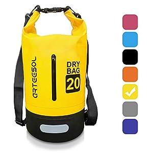 41pXy6kjzLL. SS300  - BKSTONE Bolsa Estanca Impermeable Bolsa para Material 5L / 10L / 20L / 30L Bolsa Seca para Kayak, Playa, Rafting…