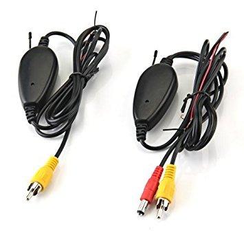 TOOGOO(R) 2,4GHz Transmisor Receptor Inalambrico para Camara Vista Trasera Coche Monitor