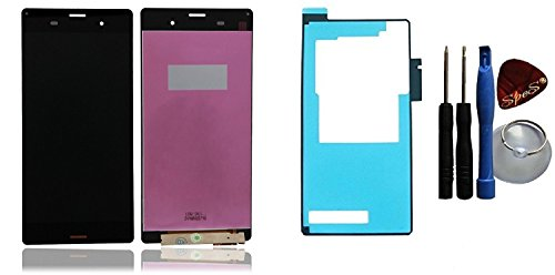 Sony Xperia Z2 D6503 L50W LCD Display Touch Screen Glas Scheibe Fronteinheit inkl. Front-Kleber