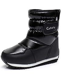 NiñOs Botas De Nieve Conejo Caliente Invierno Botas Moda Zapatos De Bebé De Felpa Impermeable Zapatillas De NiñOs NiñAs Martin Botas