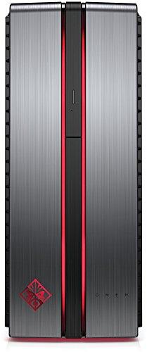 OMEN by HP (870-158ng) Gaming Desktop PC (Intel Core i5-6600K, 8 GB RAM, 1 TB HDD, 128 GB SSD, AMD Radeon RX 480, FreeDOS 2.0) Metall Optik