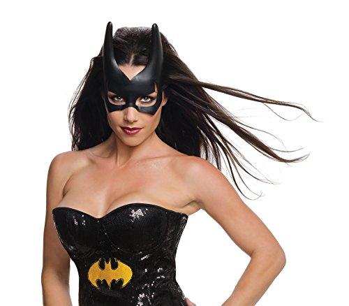 DC Comics Batgirl Costume Mask Adult One (Girls Batgirl Kostüm)