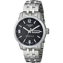 95c7349ec6f Tissot Reloj Hombre de Analogico con Correa en Acero Inoxidable  T0554301105700