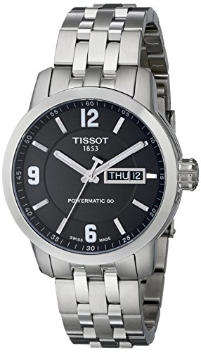 Tissot-Men-Analogue-Watch-with-Black-Dial-Analogue