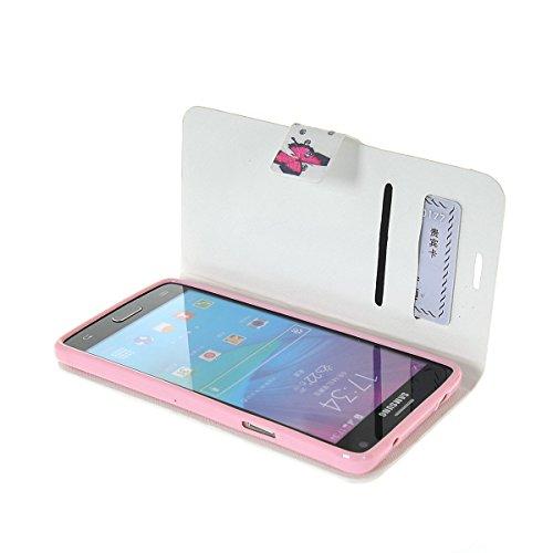 MOONCASE Coque en Cuir Portefeuille Housse de Protection Étui à rabat Case pour Apple iPhone 6 Plus A17798