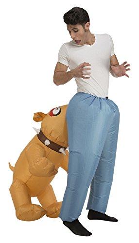 My Other Me Me - Disfraz de perro hinchable unisex, M-L (Viving Costumes 204212)