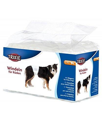 Trixie 23643 Pañales para Perro Macho