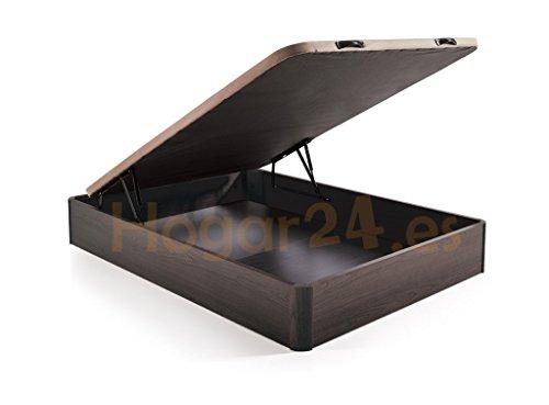 HOGAR 24 Canapé Abatible Madera Gran Capacidad Tapa