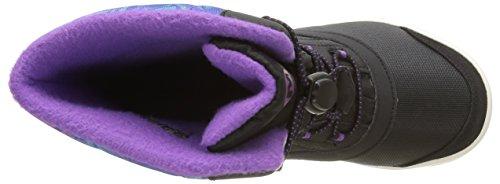 Merrell Snow Bank 2.0 Waterproof, Chaussures de Randonnée Hautes Fille Noir (Black/Print/Berry)