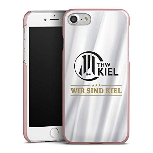 DeinDesign Hülle kompatibel mit Apple iPhone 7 Handyhülle Case THW Kiel Sterne Handball
