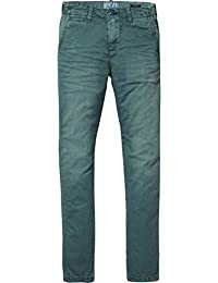 Scotch & Soda Washed Chinos | Regular Slim Fit, Pantalones para Niños