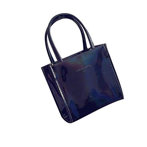 BZLine® Frauen Handtasche Umhängetasche Tasche Tote Handtasche Schwarz