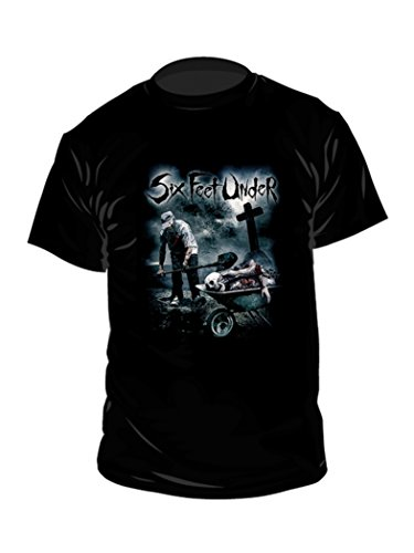 SIX FEET UNDER T-Shirt Dead Meat nero m
