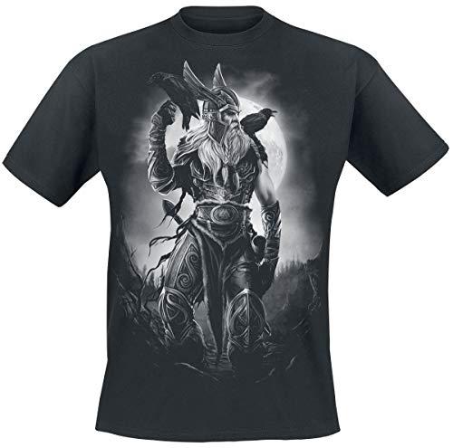 Toxic Angel Odin Camiseta Negro