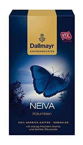 Dallmayr Kaffee Kaffeerarität Neiva Filterkaffee, HVP, gemahlen, 4er Pack (4x 250 g)