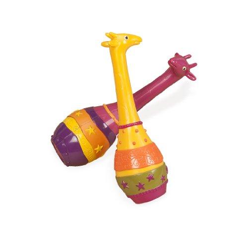 Jouets B - BX1251GTZ - Instrument de Musique - Girafe Maracas 2x Jambo - Ree in Display