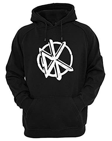 DEAD KENNEDY'S OFFICIAL LOGO UNISEX TSHIRT HOODIE AND JUMPER (L,
