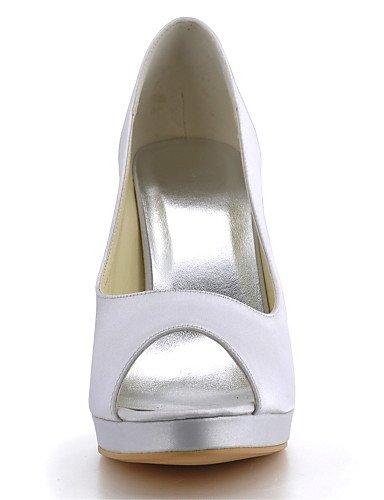 WSS 2016 Chaussures de mariage-Noir / Bleu / Jaune / Rose / Violet / Rouge / Blanc / Argent / Or / Amande / Beige-Mariage / Habillé / Soirée & 4in-4 3/4in-beige