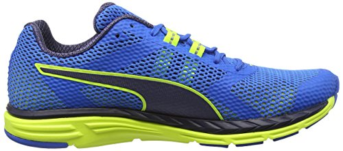 Puma Speed 500 Ignite F6, Chaussures Multisport Outdoor Mixte Adulte Bleu (Blue/Yellow 03)
