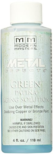 Moderne Masters pa901–04 vieillissement Solution Vert patine, 4-Ounce
