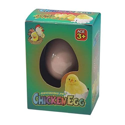 Easter novelty gifts amazon grow your own pet chicken cracking chick egg novelty easter toy negle Choice Image