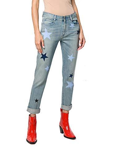 Stella McCartney Femme 372773SLH254110 Bleu Claire Coton Jeans Stella McCartney
