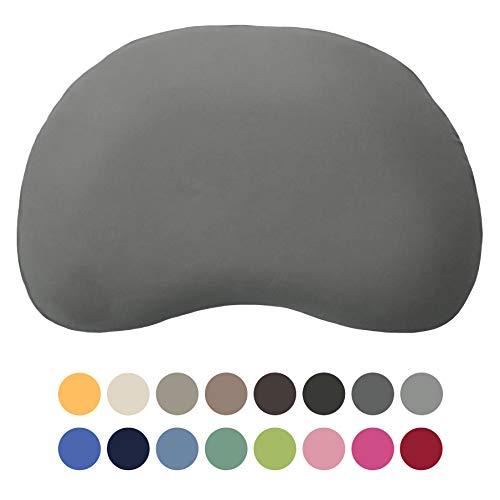 EddaLux Bezug für Tempur Sonata S/M Kissen   Kissenbezug mit Marken-Reißverschluss   100{59032a2b6a74aaa0ee2b0a6b7c8dc858c4cd9fe9b595287fcbf93ba8fbb628c4} Baumwolle   Farbe Schiefer