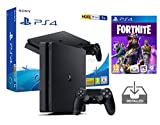 PS4 Slim 1Tb Negra Playstation 4 Consola Pack + Fortnite: Battle Royale...