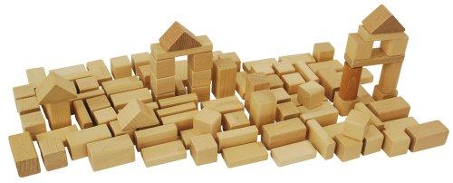 Imagen principal de HEROS 100050131 - Juego de 50 bloques de madera