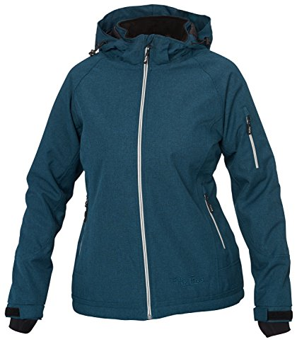 Fifty Five Damen Ski-Snowboard-Winter-Jacke - Rankin nightblue 38 - Funktions-Jacken mit FIVE-TEX Membrane / winddicht wasserdicht atmungsaktiv