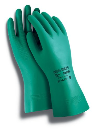ansell-solvex-37-676-guanto-in-nitrile-protezione-contro-le-sostanze-chimiche-e-liquide-verde-taglia