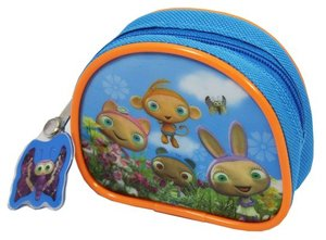 Waybuloo Purse, Piplings Picture, Zipped, Blue, Coin Purse