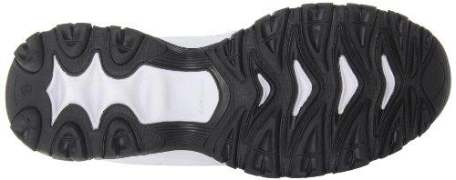 Skechers Sport Memory Foam Fit Réimpression Lace-up Sneaker White/navy