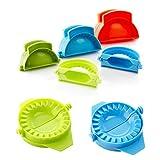 3 pezzi di plastica gnocco Maker, Jiaozi Maker multicolore pasta stampo pasta di pasta fai-da-te Ravioli Empanada stampa, taglierina multi-size che fa macchina di cottura strumento di pasticceria