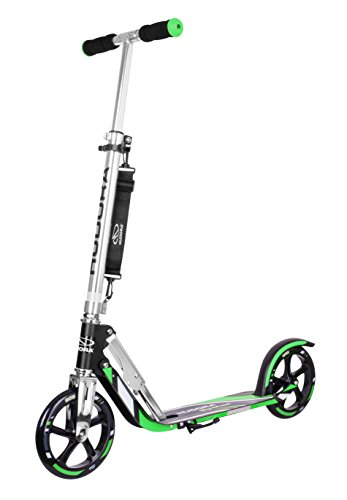 Hudora 14708 Big Wheel - Patinete plegable, 205 mm, color amarillo [importado de Alemania]