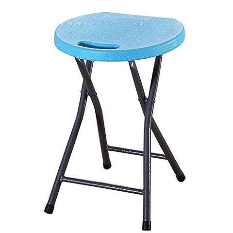 Tabouret De Bar Wave - Heruai Tabouret pliant pour ménage Chaise portable