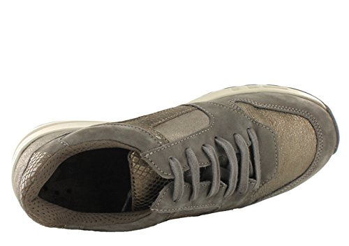 Mephisto - Cross Bucksoft 6925/Fa.26665/Re.5117 Pewter, Sneaker basse Donna Peltro