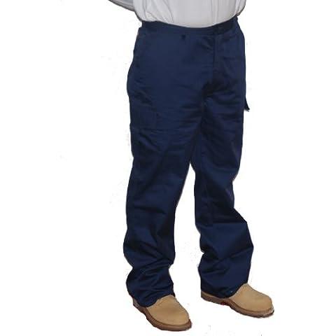 Lee Cooper Workwear, Pantaloni cargo da lavoro, LCPNT205, 30 w/34