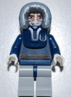 LEGO Star Wars: Anakin Skywalker (Parka) Minifigura