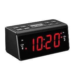 Pictek Radio Alarm Clock