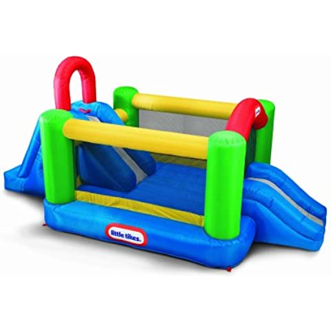 Little Tikes - Súper Castillo con Doble Tobogan (426x275x213cm)