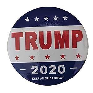 Aisoway Halten Sie Trump Buttons Pins Amerika Große Runde Brosche-Stifte Abzeichen für Kleidung Jeans Schal-Hut-Tasche Ornaments