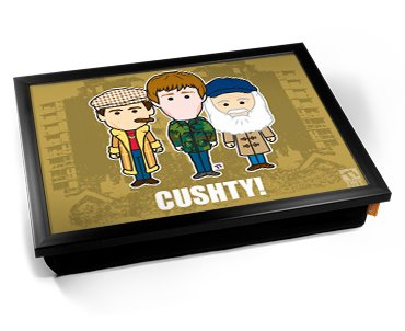 Cushty! The Traders Cartoon Cushion Lap Tray