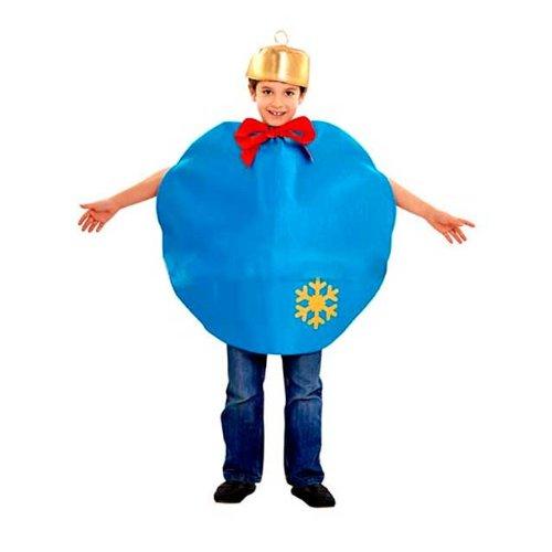 Imagen de disfraz bola navidad azul  t3 4 años